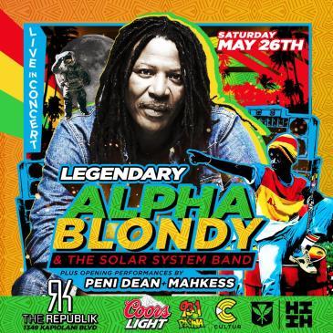 Alpha Blondy: Main Image