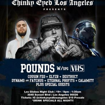 POUNDS (L.A Debut Show)-img