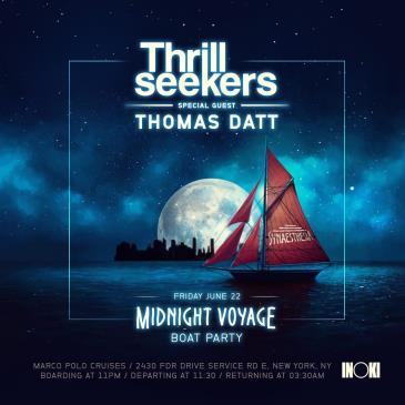 Inoki Party: Thrillseekers & Thomas Datt Boat Party: Main Image