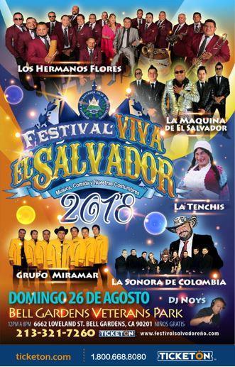 FESTIVAL VIVA EL SALVADOR 2018: Main Image