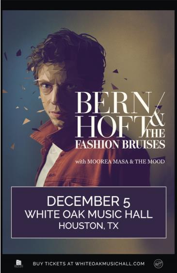 Bernhoft & The Fashion Bruises, Moorea Masa & The Mood: Main Image