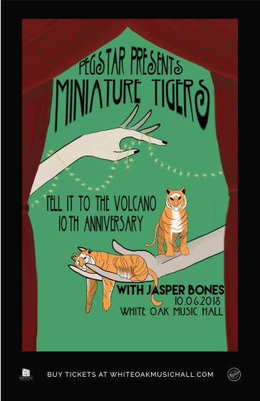 Miniature Tigers - Tell It To The Volcano 10th Anniversary: Main Image