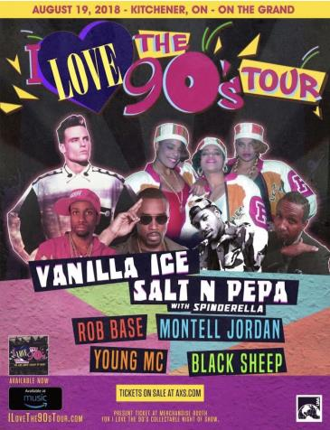 I Love The 90's Tour: Main Image