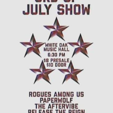 Paperwolf, Dazd, Release the Reign, The Aftervibe, Rogues Am-img