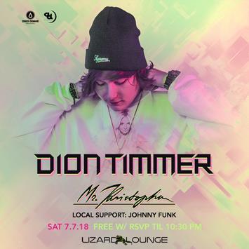 Dion Timmer - DALLAS: Main Image