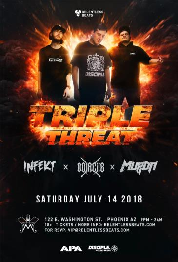 Oolacile, Murda and Infekt: Main Image