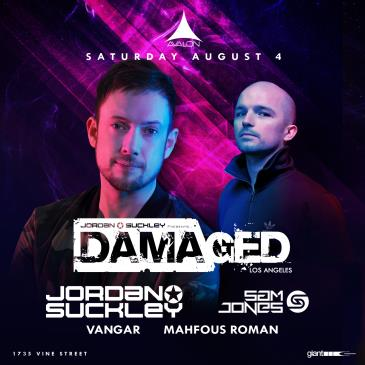 Damaged Label Night: Jordan Suckley, Sam Jones: Main Image