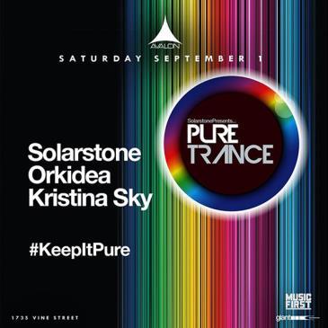 Pure Trance: Solarstone, Orkidea, Kristina Sky: Main Image