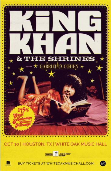 King Khan & The Shrines, Gabriella Cohen: Main Image