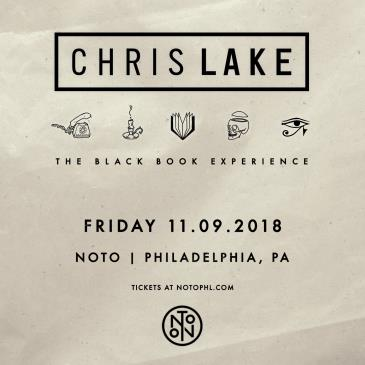 Chris Lake: Blackbook Experience Tour: Main Image
