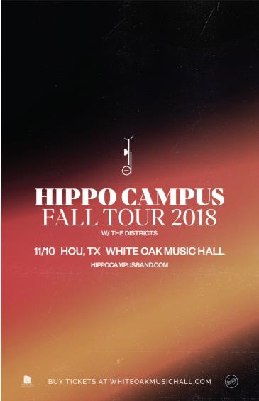 Hippo Campus, The Districts: Main Image