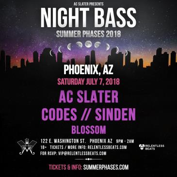 Night Bass Ft. AC Slater, Codes and Sinden: Main Image