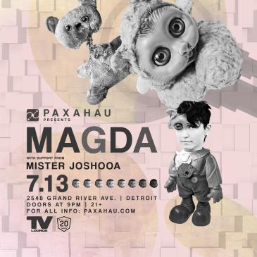 Paxahau Presents: Magda: Main Image