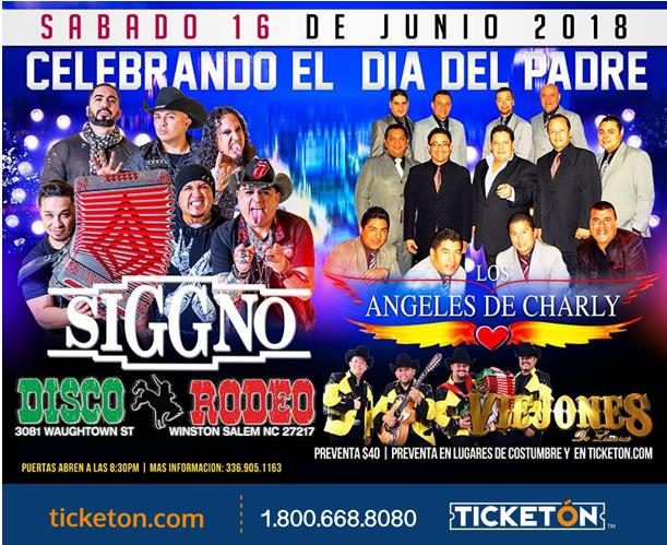 Grupo Siggno Tickets The Disco Rodeo On June 16 2018 In
