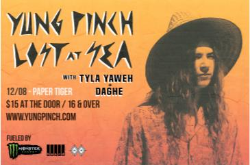 Monster Energy Tour ft. Yung Pinch w/ Tyla Yaweh: Main Image