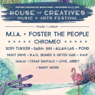 House of Creatives Music & Arts Festival: Main Image