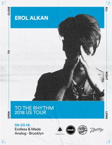 CANCELLED Erol Alkan at Analog BKNY: Main Image