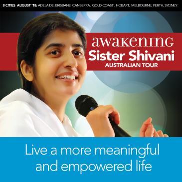 Awakening - Sister Shivani Australian Tour: Main Image