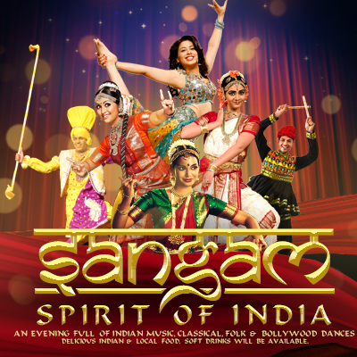 Sangam 2018, The Spirit of India Tickets - The Riverside