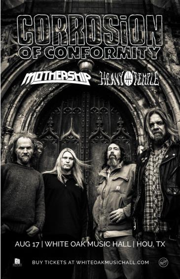 Corrosion of Conformity, Mothership, Heavy Temple: Main Image