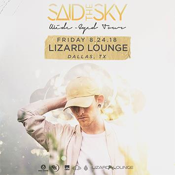 Said The Sky - DALLAS: Main Image