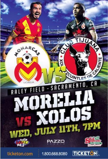 MORELIA VS XOLOS: Main Image