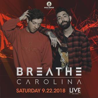Breathe Carolina - SAN ANTONIO: Main Image