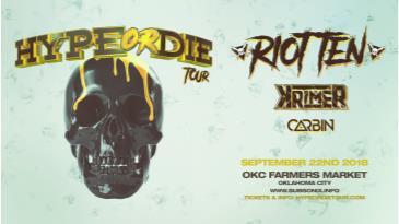 Riot Ten: Hype or Die Tour: Main Image
