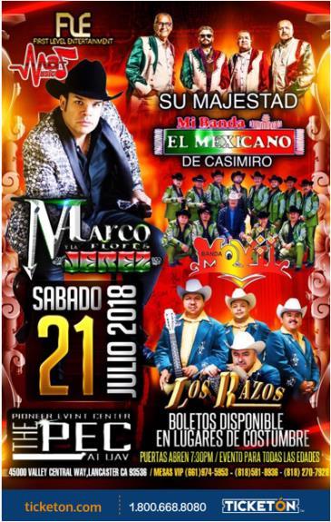 MARCO FLORES Y SU BANDA JEREZ: Main Image