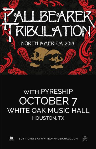 Pallbearer / Tribulation, Pyreship: Main Image