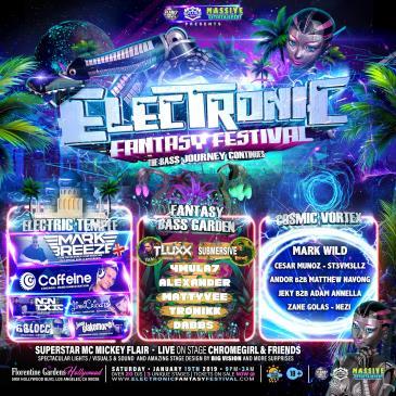 ELECTRONIC FANTASY FEST 2019: Main Image