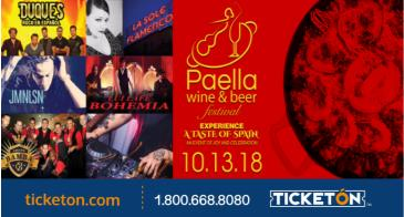 4th ANNUAL L.A. PAELLA WINE & BEER FESTIVAL-GIPSY KINGS: Main Image