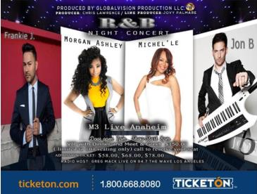 CANCELED-R&B NIGHT CONCERT: Main Image