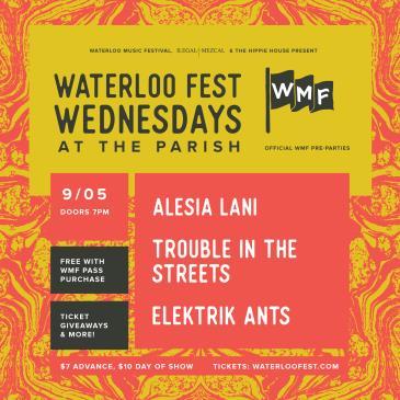 WaterlooFestWednesdays ft. TroubleInTheStreets & Alesia Lani: Main Image