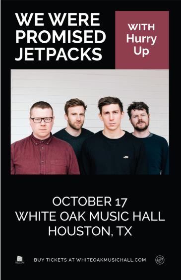 We Were Promised Jetpacks, Hurry Up: Main Image