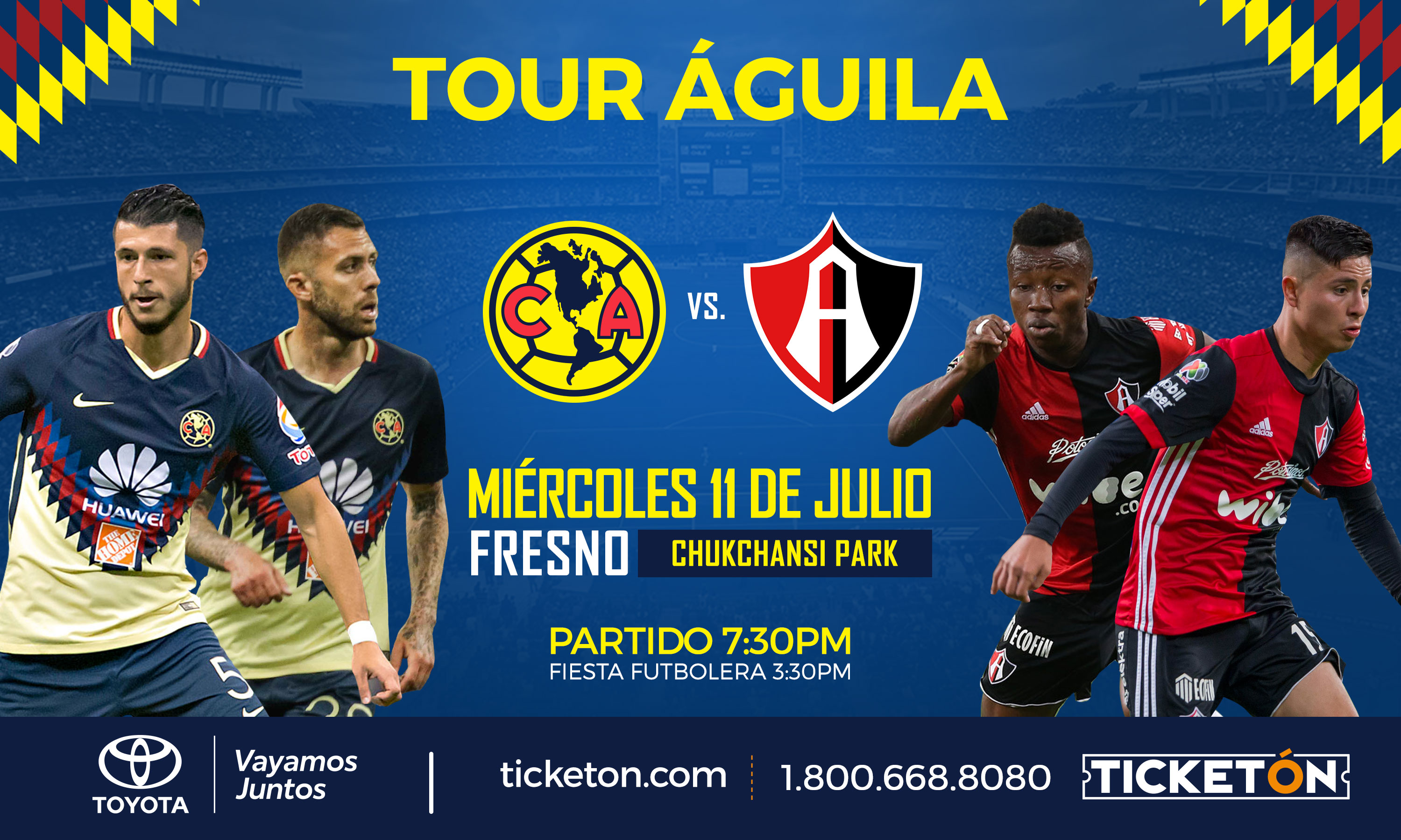 Club America Vs Atlas Main Image
