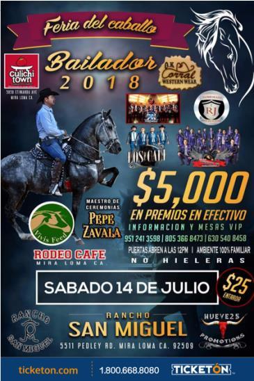 FERIA DEL CABALLO BAILADOR 2018: Main Image