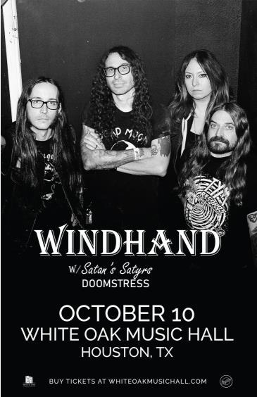 Windhand, Satan's Satyrs, Doomstress: Main Image
