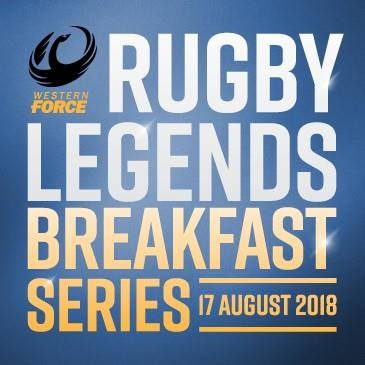 Rugby Legends Breakfast Series: Main Image