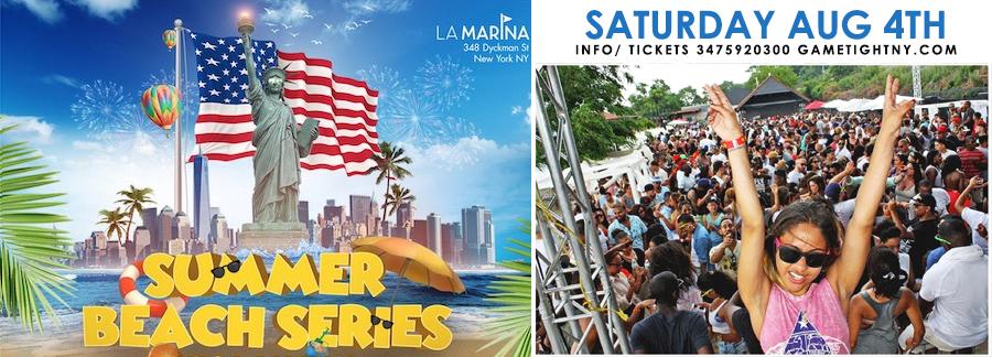La Marina NYC Aug 4th Party Tickets | GametightNY.com