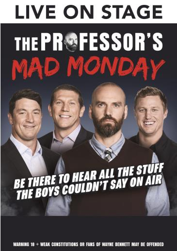 The Professors Mad Monday: Main Image