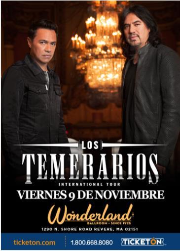 LOS TEMERARIOS TOUR 2018: Main Image