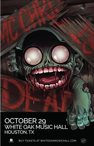 MC Chris Is Dead Tour: Main Image