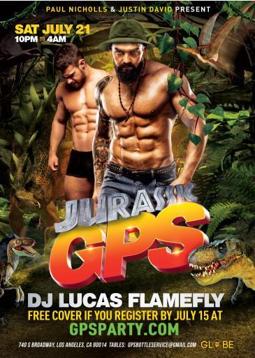 Jurassic GPS!: Main Image