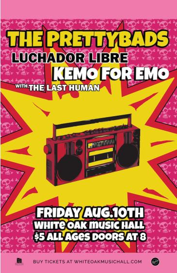 The Prettybads, Luchador Libre, Kemo for Emo: Main Image