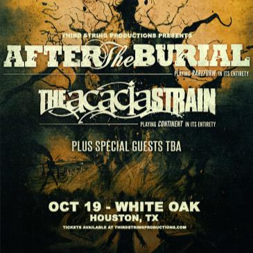 After The Burial, The Acacia Strain-img