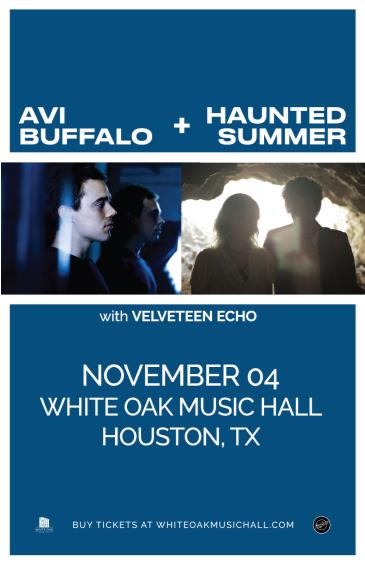 Avi Buffalo + Haunted Summer, Velveteen Echo: Main Image