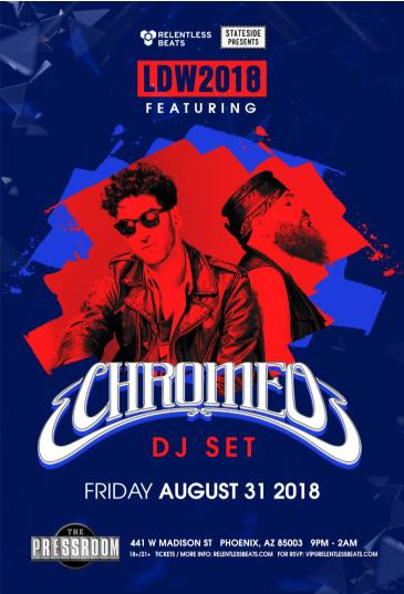 Chromeo (DJ Set): Main Image
