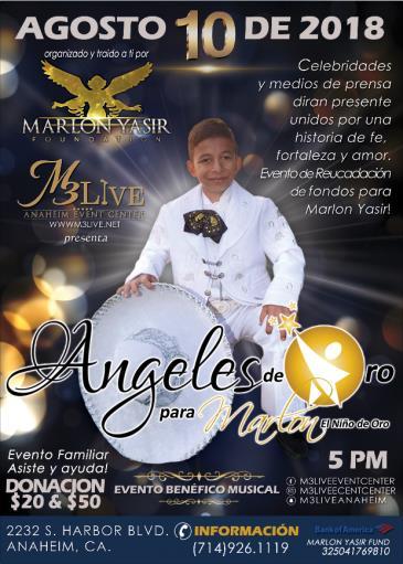 ANGELES DE ORO PARA MARLON: Main Image