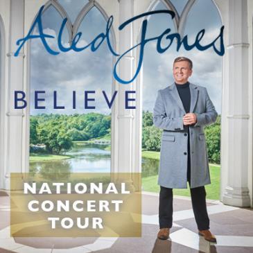 Aled Jones - Believe (Middle Park) 7pm